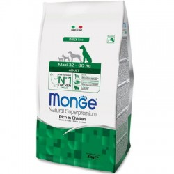 Monge Natural Maxi Adult Ricco di Pollo